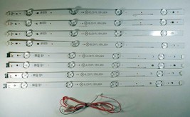 LG 49LJ5100-UC LED Backlight Strips Complete with Wires 49LH51_FHD_A/B - $51.99