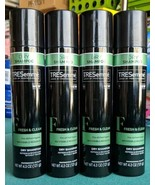 Lot 4 TRESemmé Dry Shampoo Fresh & Clean Refresh Revive Without Water 4.... - $16.82