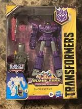 Transformers Bumblebee Cyberverse Adventures Deluxe Series Shockwave Figure - $29.68