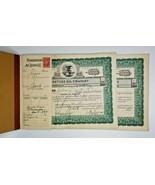 """1938 Rare Stock Certificate Book / Certs """"Venture Oil Company"""" Z1    - $229.99"""