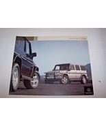 2004 Mercedes g class g500 g55 amg g wagon owners sales brochure new ori... - $29.69