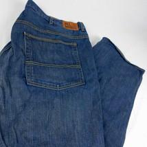 Ralph Lauren Polo Jeans Co Blue Denim Hayden Relaxed Fit W 44 L 32 - $38.99
