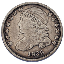 1835 10C Bust Dime In Fine Condition - $68.31