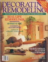 Decorating  Remodeling  Magazine March 1988 - $2.50
