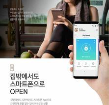 Samsung Push Pull Door Lock SHP-DR700  Wi-Fi Digital Doorlock 2 Card Keys Pin image 4