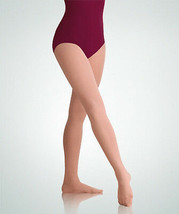 Body Wrappers A30X Women's Plus Size 1X/2X Jazzy Tan Footed Tights - $13.36
