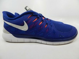 Nike Free 5.0 2014 Size 12 M (D) EU 46 Men's Running Shoes Royal Blue 642198-402