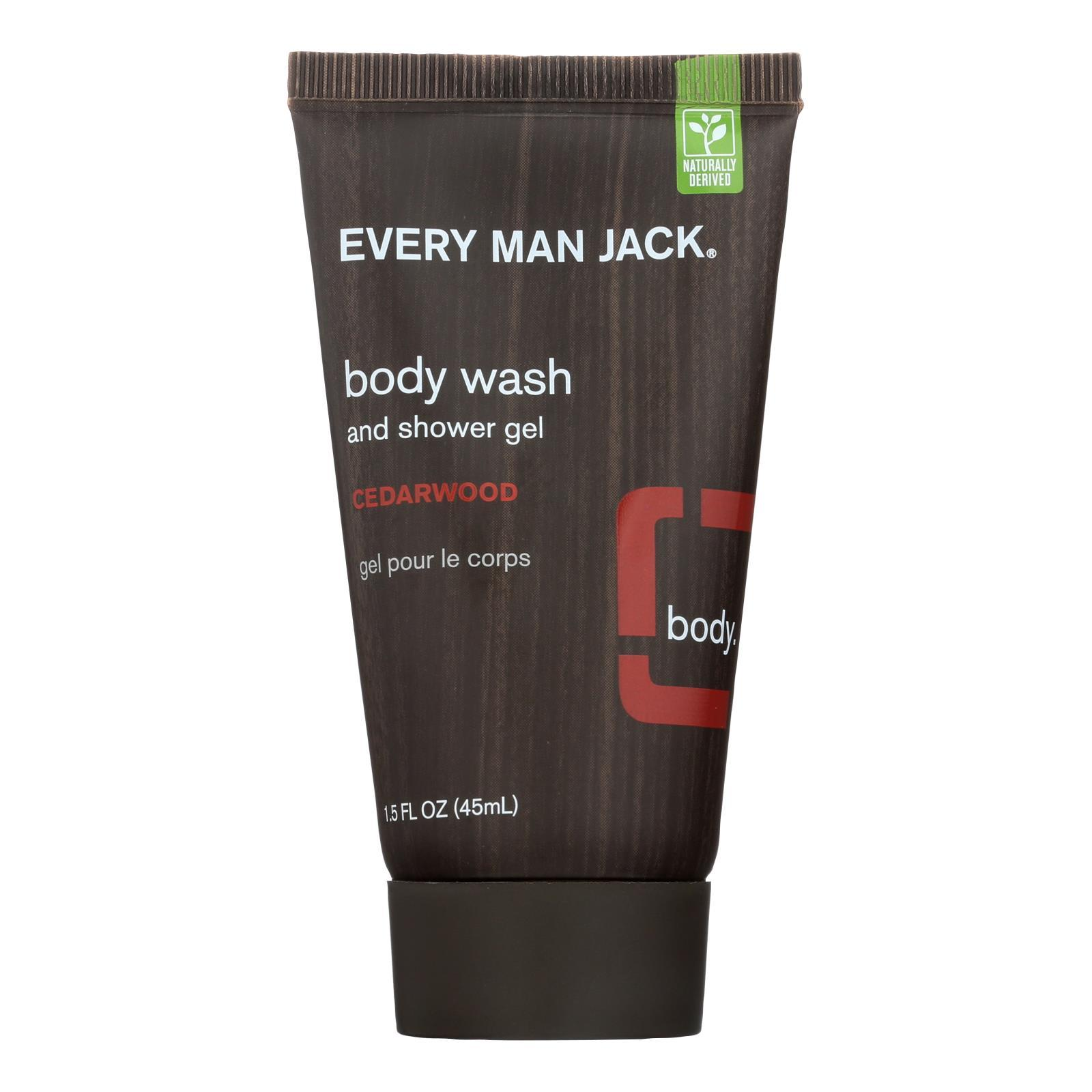 Primary image for Every Man Jack Body Wash Cedar wood - Body Wash - 1 FL oz.