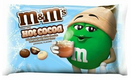 Lot of 4 M&M's 8 Oz Bags Hot Cocoa with Milk White Chocolate and Marshmallow New image 2