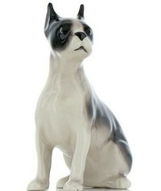 Hagen Renaker Pedigree Dog Boston Terrier Large Ceramic Figurine