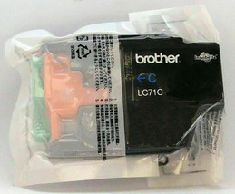 Genuine Brother LC71 Cyan LC71C NEW Sealed ink No Box - $6.99