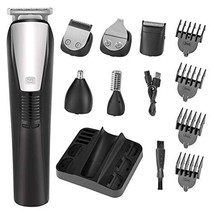 Beard Trimmer Mens Hair Clipper Mustache Trimmer Shaver Body Groomer Trimmer and image 1