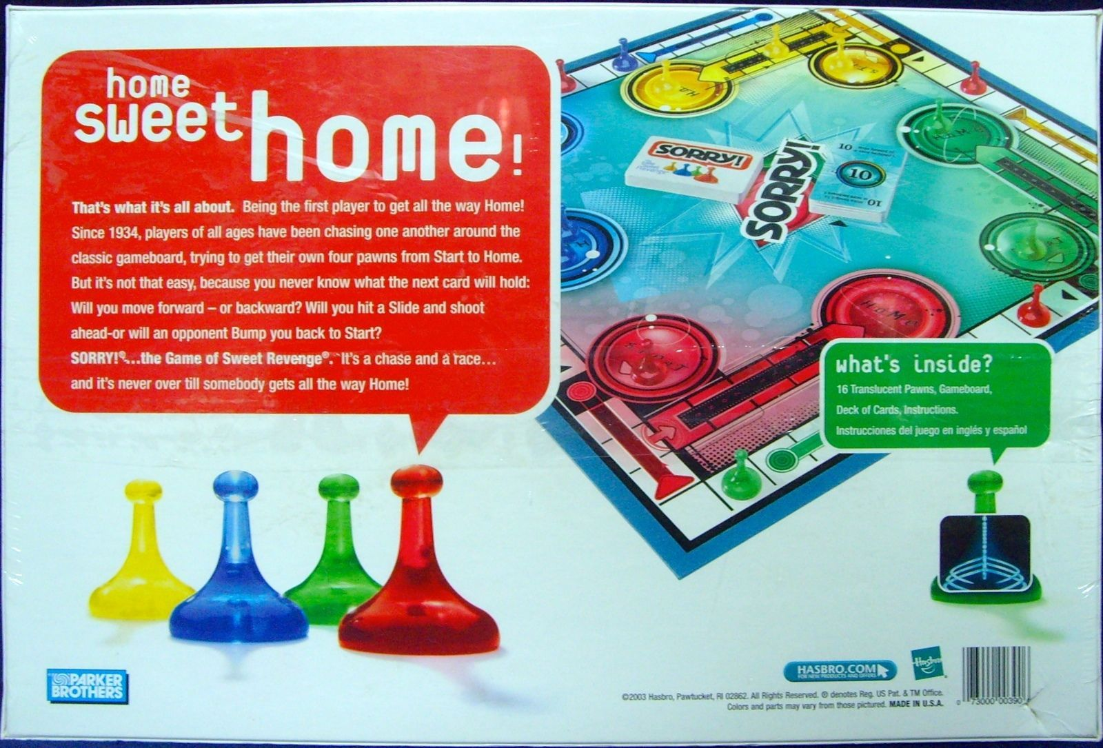 hasbro sorry fire and ice game instructions pdf