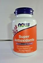 NOW Foods Super Antioxidants, 120 Veg Caps (VS-N) - $21.73