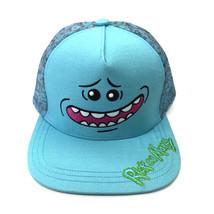 Rick And Morty Baseball Cap Snapback Hat Peaked Cap Blue - $21.99