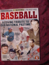 Starlog 100 Years Of Major League Baseball 1999 Special Issue Mlb - $9.00