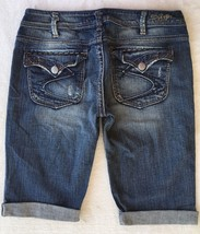 SILVER JEANS Sale New Low Pioneer Flap Pocket Denim Stretch Jean Mid Sho... - $39.97