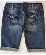 SILVER JEANS Sale New Low Pioneer Flap Pocket Denim Stretch Jean Mid Sho... - $33.33