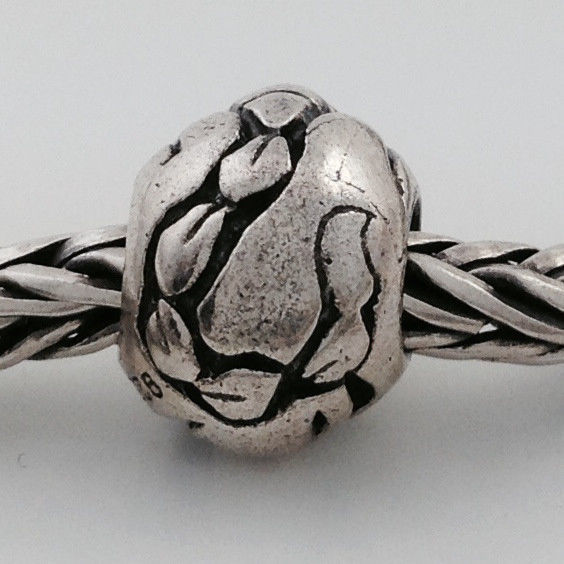 Authentic Trollbeads Scorpio Sterling Silver Bead Charm 11347, New