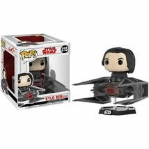 Kylo Ren Tie Fighter Deluxe Funko Pop! 215 Star Wars Last Jedi Bobblehea... - $14.82