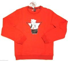 NWT $195 Opening Ceremony x Coca Cola Red Crew Neck Sweatshirt sz L  - $137.61