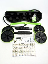 Whole Body Exercise Device AB Wheel Double Roller with Resistance Bands NEW - $24.70