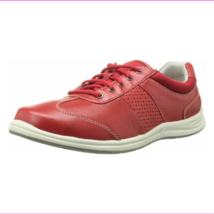 ROCKPORT Women's XCS Walk Together Red Sneaker Lace Up Shoes Windchime 5.5M - $42.20