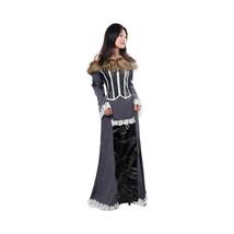 Final Fantasy X 10 Lulu Cosplay Costume Halloween Dress Uniform Outfit Dress - $129.99+