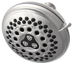 Waterpik Medallion Brushed Nickel 7 Setting Showerhead IDC-739 - $34.99