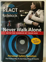 REACT SIDEKICK Self Defense Personal SAFETY Keychain Security Alarm For ... - $29.99