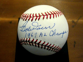BOBBY DOERR 1967 AL CHAMPS HOF BOSTON RED SOX SIGNED AUTO BASEBALL JSA B... - $118.79