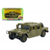 New Humvee Military Cargo/Troop Carrier Green 1/24 Diecast Model Car by ... - $37.42