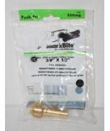 """3/8"""" X 1/2"""" Tail Reducer (Push-Fit Fitting) by Sharkbite Lead-Free #U719LFA - $6.49"""