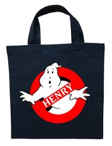 Ghostbusters Trick or Treat Bag, Personalized Ghostbusters Halloween Bag - $12.99+