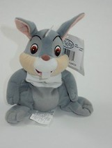 "Disney Store 7"" Bambi Thumper Bunny Beanbag Plush Stuffed Animal w/Tags - $6.79"