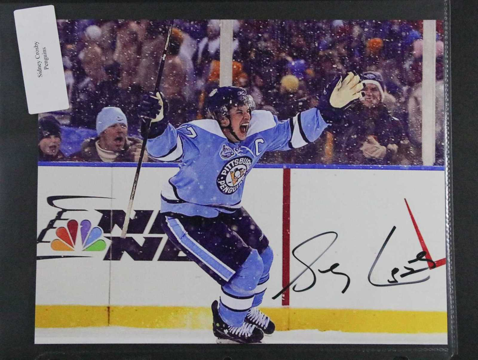 f8ab71e47aa 1138. 1138. Sidney Crosby Signed Autographed Glossy 8x10 Photo - Pittsburgh  Penguins. Free Shipping