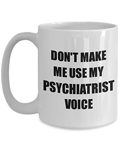 Primary image for Psychiatrist Mug Coworker Gift Idea Funny Gag for Job Coffee Tea Cup 15 oz
