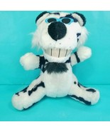 Tiger White Black Stripes Blue Sunglasses Plush Stuffed Animal Funny Toy... - $16.82
