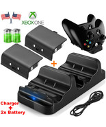 Dual Charging Dock Station Controller Charger + 2x Rechargeable Battery - $20.00