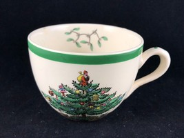Spode Christmas Tree Teacup S3324 M 28-M - Made in England - $9.50