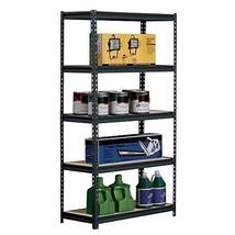 Industrial Storage Shelves 5-Shelf Shelving Unit Heavy Duty Commercial S... - $72.98