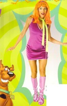 DAPHNE from Scooby Doo Dress and Wig Adult Costume - $45.00