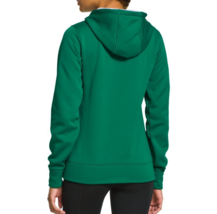 NEW UNDER ARMOUR WOMEN'S PREMIUM STORM CALIBER SPORT GYM WORK OUT HOODIE GREEN image 3