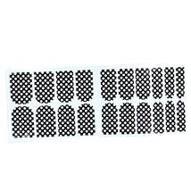 [Set of 2]Easily Apply 12 PCS Salon Artificial Nail Polish Sticker, Cute Dots image 2