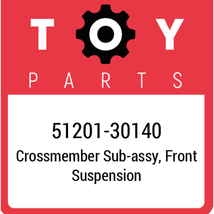 51201-30140 Toyota Crossmember, New Genuine OEM Part - $626.34