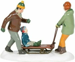 Dept 56 Snow Village Christmas Lane Heading for the Hills 6005460 NEW - $47.49