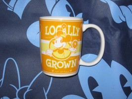 DISNEY PARKS MINNIE MOUSE COFFEE CUP MUG. LOCALLY GROWN. NEW. - $19.57