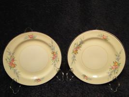 "12 Homer Laughlin Eggshell Nautilus Ferndale Bread Plates 6 1/8"" Set 12 ... - $32.62"