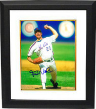 Frank Viola signed New York Mets 8x10 Photo Custom Framed (arm up pitching) - $69.00
