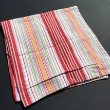 Euro Pillow Sham Pottery Barn 100% Cotton Classic Nautical Ticking Stripe - $19.34